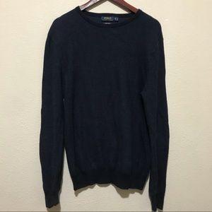 Polo Ralph Lauren Navy Crewneck Sweater Medium